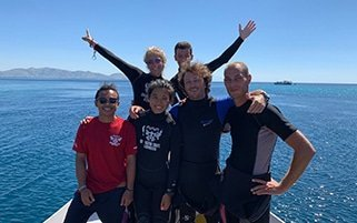 dragon dive komodo team