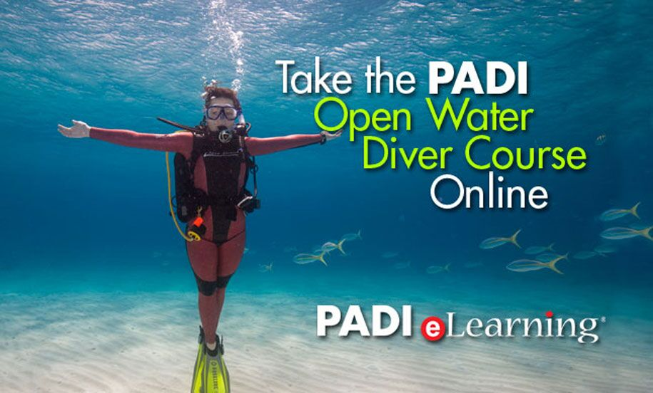 padi open water logo