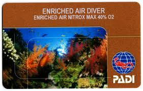 padi nitrox course dragon dive komodo